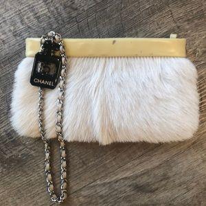 ba7a2a347221 Women Chanel Fur Bag on Poshmark